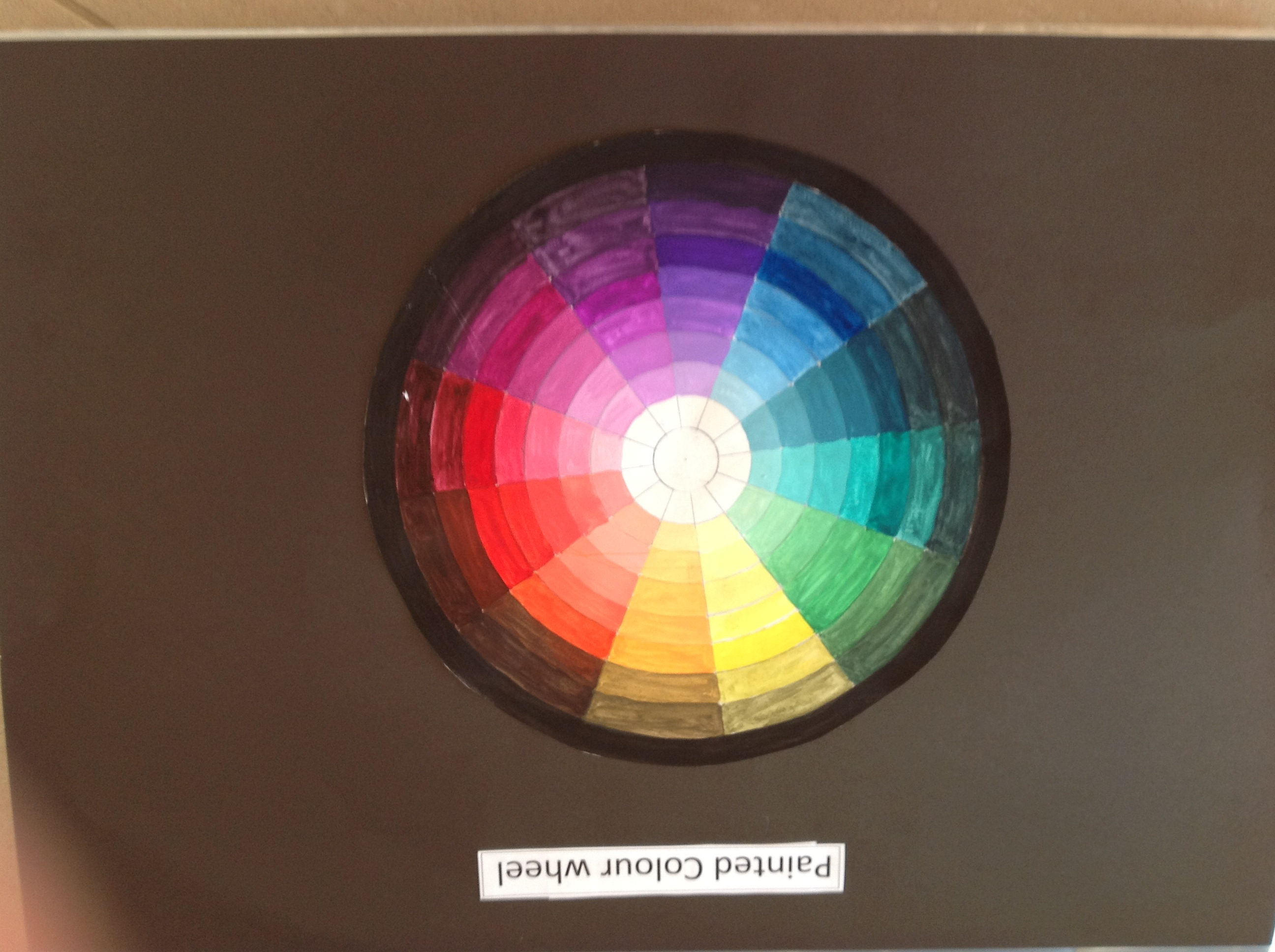 Colour Wheel and Colour Schemes – Level 1